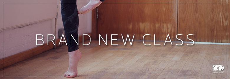Oxford's brand NEW Barre class!