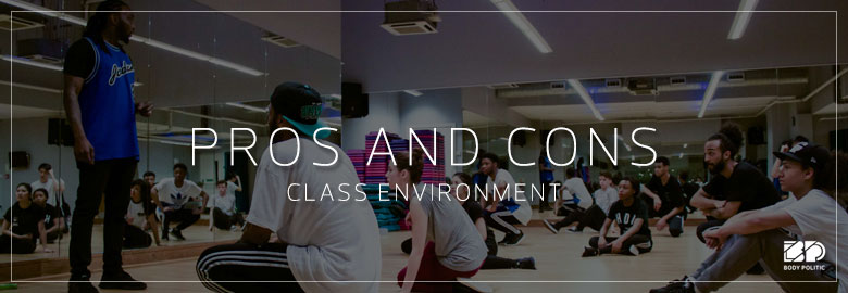 Pros and Cons: Learning in a class environment