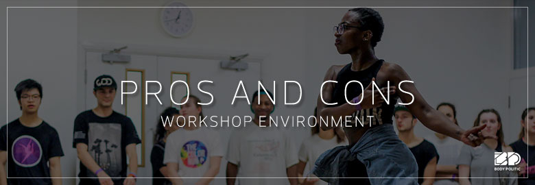 Pros and Cons: Learning in a Workshop environment
