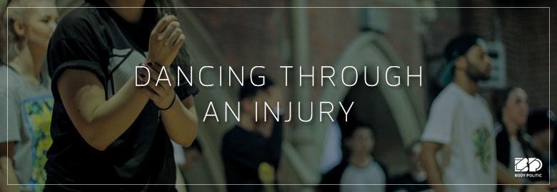Dancing Through An Injury: Psychological