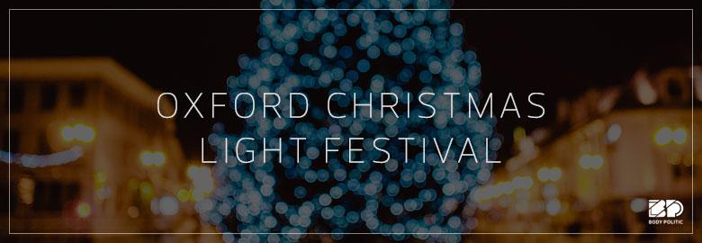 M Word heading to Oxford Christmas Light Festival